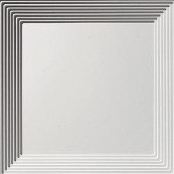Art Deco Coffer Ceiling Tile | Mineral composite panels | Above View Inc
