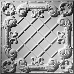 Baroque Panel Ceiling Tile | Minéral composite panneaux | Above View Inc