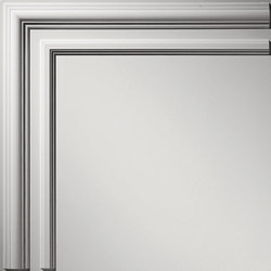 Classic Filler Corner Ceiling Tile | Minerale composito pannelli | Above View Inc