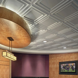 Classic Panel Ceiling Tile | Minéral composite panneaux | Above View Inc