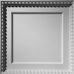 Coffered Dentil Ceiling Tile | Minerale composito pannelli | Above View Inc