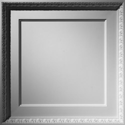 Coffered Egg & Dart Ceiling Tile   Panneaux   Above View Inc