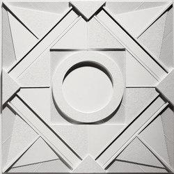 Deco 1 - Circle Ceiling Tile | Mineral composite panels | Above View Inc