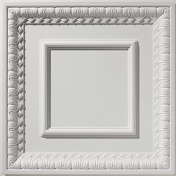 English Lamb's Tongue Ceiling Tile | Mineral composite panels | Above View Inc