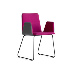 PEPE FLEX | Visitors chairs / Side chairs | Girsberger