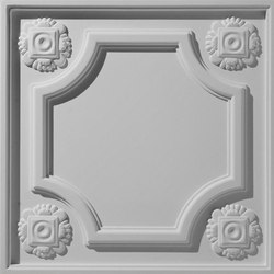 Mayan Flower Ceiling Tile | Compuesto mineral planchas | Above View Inc