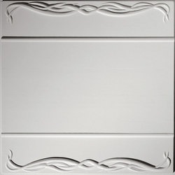 Millennium Border 2 Ceiling Tile | Compuesto mineral planchas | Above View Inc