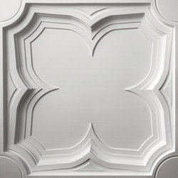 Gothic Coffer Ceiling Tile | Mineral composite panels | Above View Inc