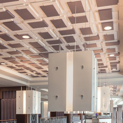 Platforms Ceiling Tile | Mineral composite panels | Above View Inc