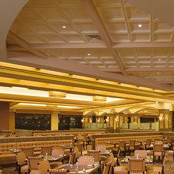 Presidential Coffer Ceiling Tile | Mineral composite panels | Above View Inc