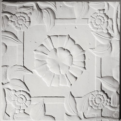 Spanish Rose Ceiling Tile | Compuesto mineral planchas | Above View Inc
