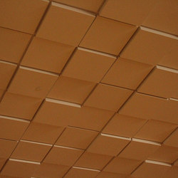 Square Drop 3 Ceiling Tile | Mineral composite panels | Above View Inc