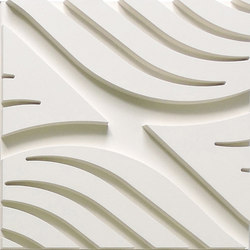 Wave A Ceiling Tile | Minéral composite panneaux | Above View Inc