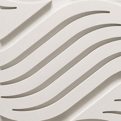 Wave B Ceiling Tile | Mineral composite panels | Above View Inc
