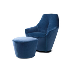Cantate | Armchair & Footstool | Sillones | Leolux