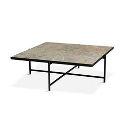 Coffee Table 90 Black - Colombe d'Or Marble | Couchtische | HANDVÄRK