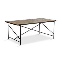 Dining Table 185 Black - Colombe d'Or Marble | Tables de repas | HANDVÄRK