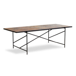 Dining Table 230 Black - Colombe D'or Marble | Tables de repas | HANDVÄRK