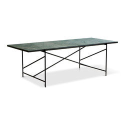 Dining Table 230 Black - Dolceacqua Marble | Tables de repas | HANDVÄRK