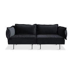 2-Seat Sofa - dark grey | Divani lounge | HANDVÄRK