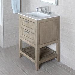 Stile Undercounter Vanity H281B | Armarios lavabo | Lacava