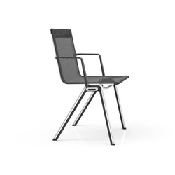 BLAQ armchair | Visitors chairs / Side chairs | rosconi