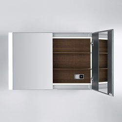 Quattro.Zero Specchio contenitore | Armadietti parete | Falper