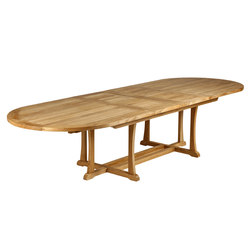 Stirling | Extending Table 320 | Tables à manger de jardin | Barlow Tyrie
