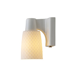 Oxford 1 Bone China Wall Light | Éclairage général | Original BTC Limited