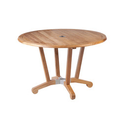 Chesapeake | Dining Table 120 | Tables à manger de jardin | Barlow Tyrie