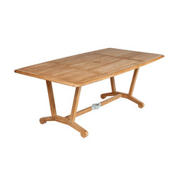 Chesapeake | Dining Table 200 | Garten-Esstische | Barlow Tyrie