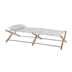 Camp Cot Stretcher | off white | Sun loungers | Unopiù