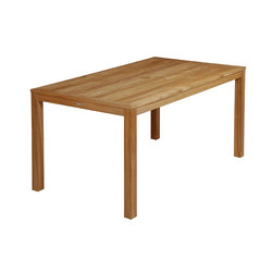 Linear | Dining Table 150 | Tables à manger de jardin | Barlow Tyrie