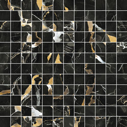 Mosaico 144 Black Gold JW 11 | Floor tiles | Mirage