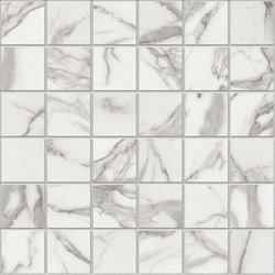 Marstood | Marble 01 | Statuario Mosaic matt | Ceramic mosaics | TERRATINTA GROUP