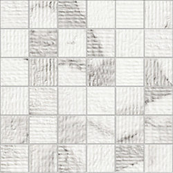 Marstood | Marble 01 | Statuario Mosaic rigato | Ceramic mosaics | TERRATINTA GROUP