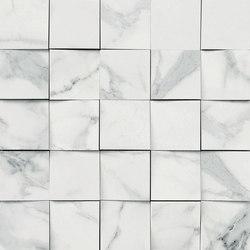 Mosaico 3D Bianco Lunensis JW 12 | Keramik Fliesen | Mirage