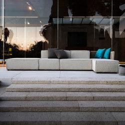 Deauville | Sedute Lounge Componibili | Divani da giardino | Unopiù