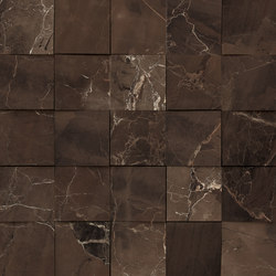 Mosaico 3D Emperador Selected JW 05 | Ceramic tiles | Mirage