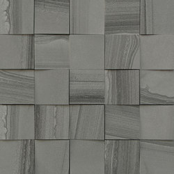 Mosaico 3D Gris Allure JW 08 | Ceramic tiles | Mirage