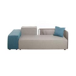 Deauville | Chaises Lounge Composables | Sofas de jardin | Unopiù