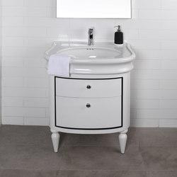 Lirico Undercounter Vanity H251C | Vanity units | Lacava
