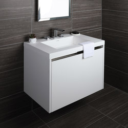 Kubista Undercounter Vanity H262 | Armarios lavabo | Lacava