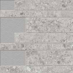 Marstood | Stone 05 | Ceppo di Gré Brick Wall | Ceramic tiles | TERRATINTA GROUP