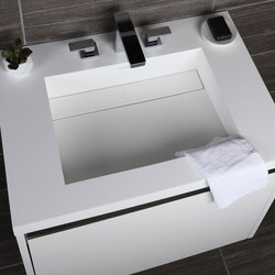 Kubista Vanity Top Lavatory H262T | Wash basins | Lacava