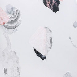 Minerals | black pink | Wall coverings / wallpapers | Petite Friture