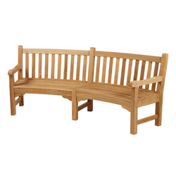 Glenham | Curved Seat 285 | Garden benches | Barlow Tyrie