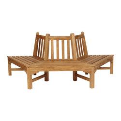 Glenham | Hexagonal Tree Seat | Garden benches | Barlow Tyrie