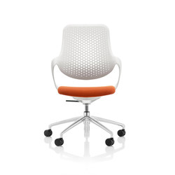 Coza Task Chair - White Shell | Sedie ufficio | Boss Design