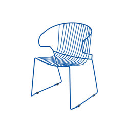 Bolonia chair | Plain blue | Multipurpose chairs | iSimar